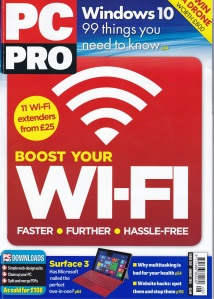 PC Pro August 2015 Cover