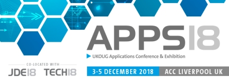 UKOUG Applications 18 conference image link